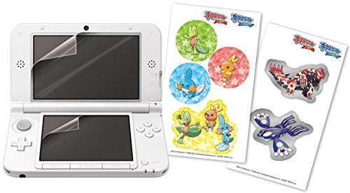 Image 2 for Protection Filter for 3DS LL with Pokemon Seal