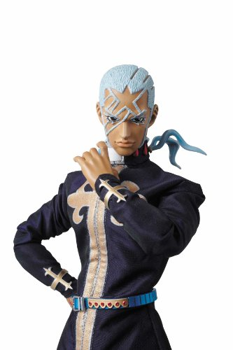 Image 4 for Jojo no Kimyou na Bouken - Stone Ocean - Enrico Pucci - Green Baby - Real Action Heroes #522 - 1/6 (Medicom Toy)