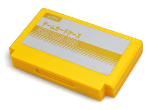 Image 2 for Retro Game Card Case for 3DS (Yellow)