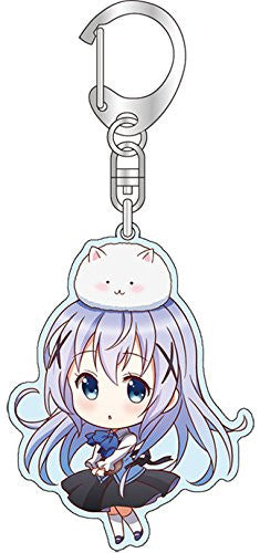 Image 1 for Gochuumon wa Usagi Desu ka? - Kafuu Chino - Tippy - Keyholder (Broccoli)