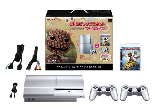Image 1 for PlayStation3 Console (HDD 80GB LittleBigPlanet Dream Box) - Satin Silver