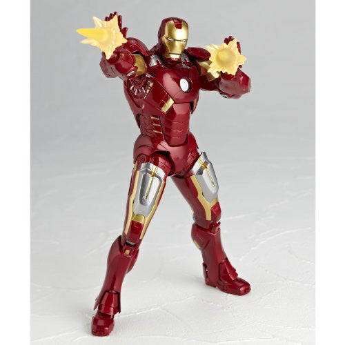 Image 2 for The Avengers - Iron Man Mark VII - Legacy of Revoltech LR-041 - Revoltech - Revoltech SFX #42 (Kaiyodo)