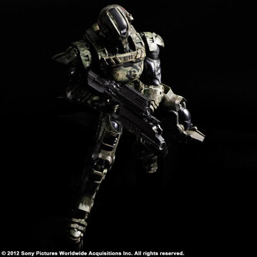 Image 4 for Starship Troopers: Invasion - Major Henry Varro - Play Arts Kai (Square Enix)
