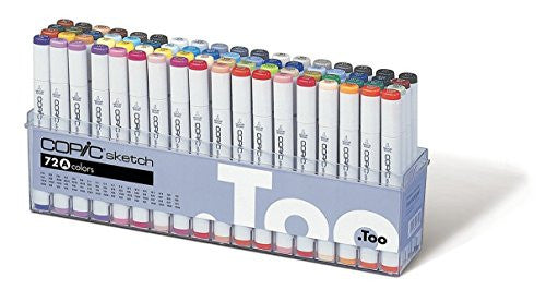 Image 1 for Copic Marker 72-Piece Sketch Set A