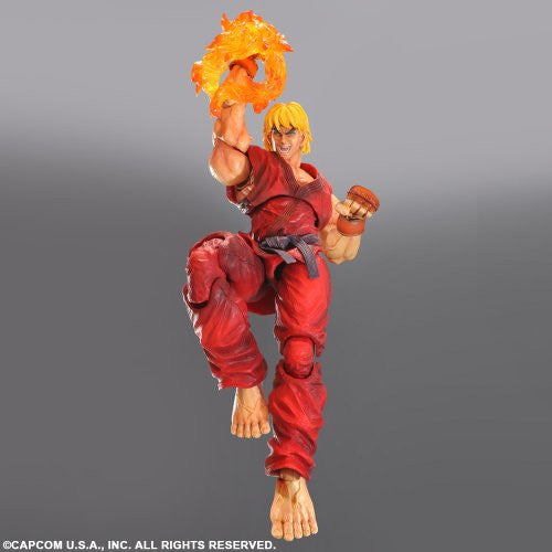 Image 2 for Super Street Fighter IV: Arcade Edition - Ken Masters - Play Arts Kai (Square Enix)