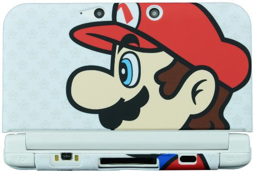 Image 3 for Rubber Coat Cover for 3DS LL (Mario)