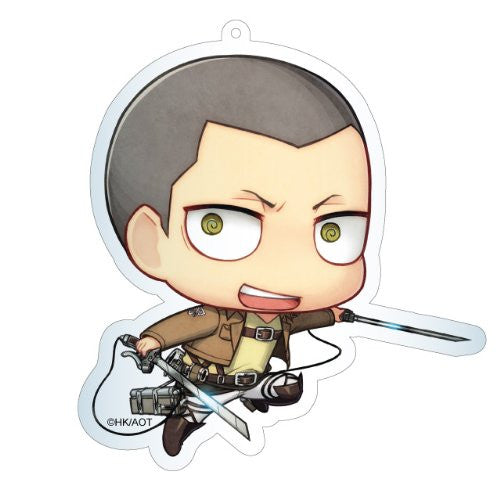 Image 1 for Shingeki no Kyojin - Connie Springer - Deka Keyholder - Keyholder - Chimi (Contents Seed)