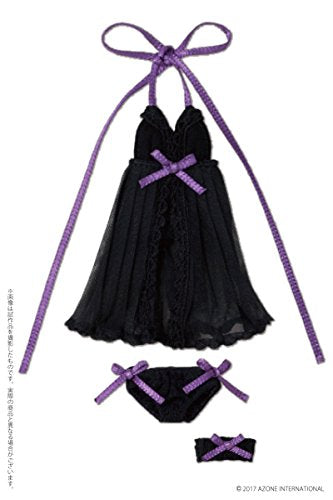 Doll Clothes - Picconeemo Costume - Babydoll Set - 1/12 - Black (Azone)