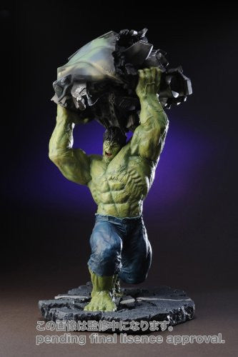 Image 2 for The Incredible Hulk Movie - Hulk - Fine Art Statue - Movie Ver. (Kotobukiya)
