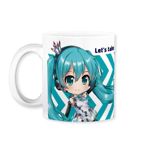 Image 1 for GOOD SMILE Racing - Vocaloid - Hatsune Miku - Mug - Mug Part 2 (Gift)