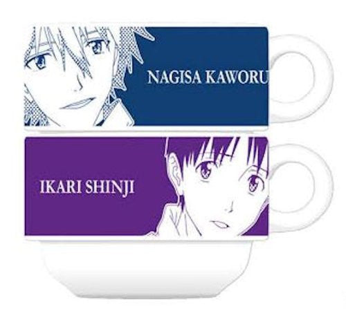 Image 1 for Evangelion Shin Gekijouban - Ikari Shinji - Mug - Stackable Mug (Movic)