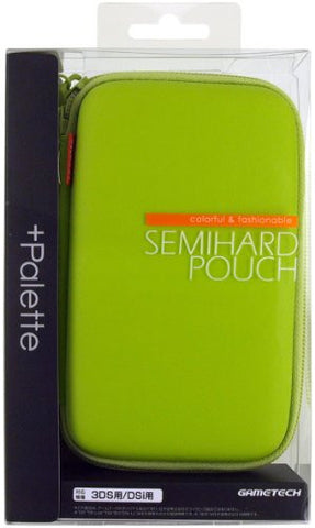 Image for Palette Semi Hard Pouch for 3DS (Lime Green)