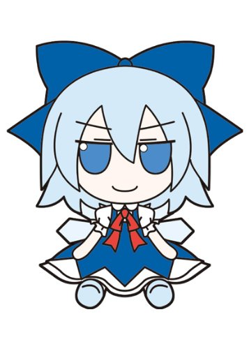 Image 4 for Touhou Project - Cirno - FumoFumo - Touhou Plush Series 09 (AngelType, Gift)