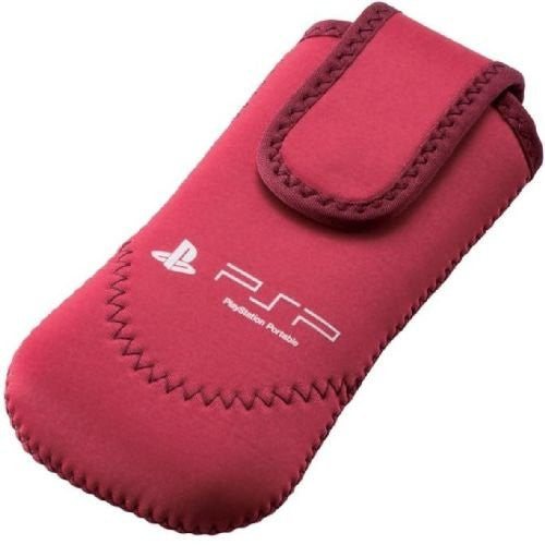 Image 1 for PSP Neoprene Soft Case (Red)