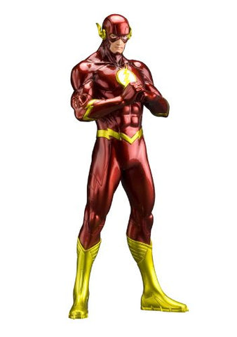 Image for Justice League - Flash - DC Comics New 52 ARTFX+ - 1/10 (Kotobukiya)