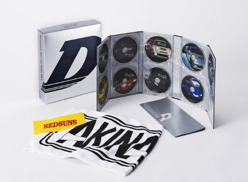 Image 1 for Initial D Premium Blu-ray Box Pit Vol.1 [6Blu-ray+3CD Limited Edition]