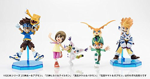 Image 2 for Digimon Adventure - Agumon - Yagami Taichi - G.E.M. - 1/10 - Re-release (MegaHouse)