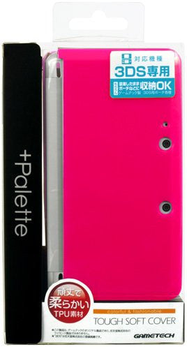 Image 1 for Palette Tough Softcover for 3DS (Rose Pink)