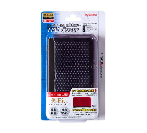 Image 1 for TPU Cover for 3DS LL (Clear Black)