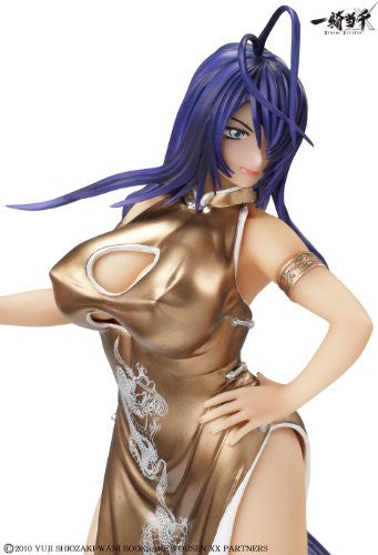 Image 2 for Ikki Tousen Xtreme Xecutor - Kan'u Unchou - 1/4.5 - Chinese Dress Gold Ver. (A+)