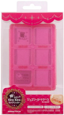 Image for Jewel Card Case (Rose Glitter)