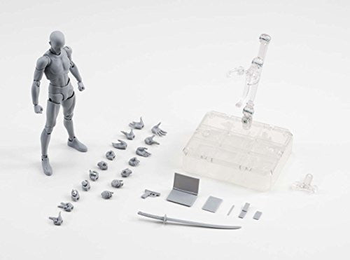 Image 6 for S.H.Figuarts - Body-kun - DX Set, Gray Color Ver. (Bandai)