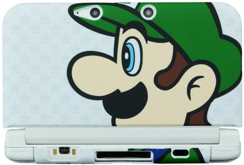 Image 2 for Rubber Coat Cover for 3DS LL (Luigi)