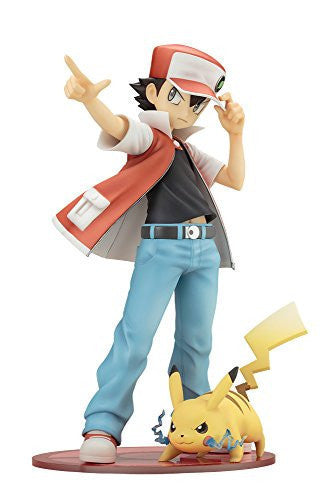 Pocket Monsters - Pikachu - Red - ARTFX J - Pokémon Figure Series - 1/8 (Kotobukiya)