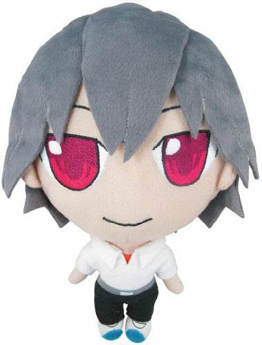 Image 1 for Shin Seiki Evangelion - Nagisa Kaworu - Petite Eva Plush Doll Set B with Ryosanki (Movic)