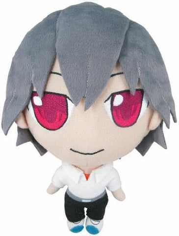 Image for Shin Seiki Evangelion - Nagisa Kaworu - Petite Eva Plush Doll Set B with Ryosanki (Movic)