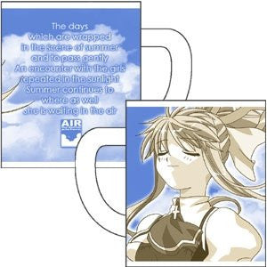 Image 1 for Air - Kamio Misuzu - Mug (Cospa Key Visual Art's)