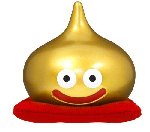 Image 1 for Dragon Quest - Slime - Dragon Quest Sofubi Monster - 25th Anniversary Gold color (Square Enix)