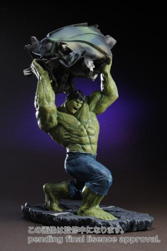 Image 3 for The Incredible Hulk Movie - Hulk - Fine Art Statue - Movie Ver. (Kotobukiya)