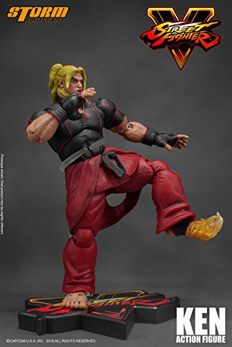 Image 4 for Street Fighter V - Ken Masters - 1/12 (Storm Collectibles)
