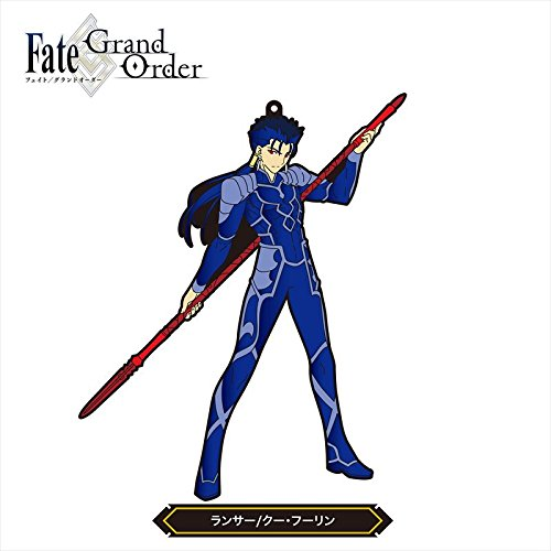 Fate/Grand Order - Cú Chulainn - Fate/Grand Order Non Deformed Rubber Strap Vol.2 - Rubber Strap