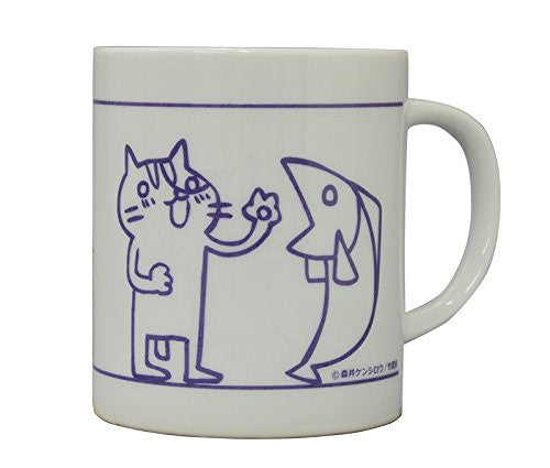 Image 1 for Sakana & Neko - Mug - Purple (Algernon Product)