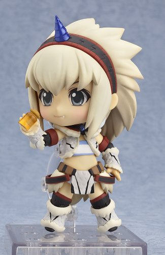 Image 5 for Monster Hunter 4 - Airou - Hunter - Nendoroid #377 - Kirin Armor ver., Full Action (Good Smile Company)