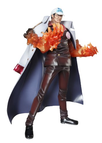 Image 7 for One Piece - Akainu - Portrait Of Pirates DX - Excellent Model - 1/8 (MegaHouse)