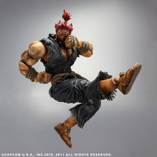 Image 3 for Super Street Fighter IV - Gouki - Play Arts Kai (Square Enix)