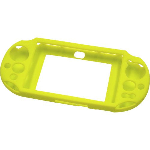 Image 2 for Silicon Jacket for PlayStation Vita Slim (Lime Green)