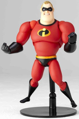 Image 4 for The Incredibles - Mr. Incredible - Revoltech - Revoltech Pixar Figure Collection - 4 (Kaiyodo Pixar The Walt Disney Company)