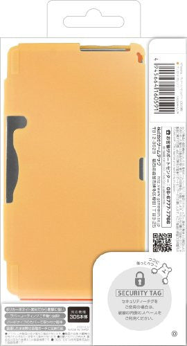 Image 2 for Palette Rubber Hardcover for 3DS (Sunset Orange)