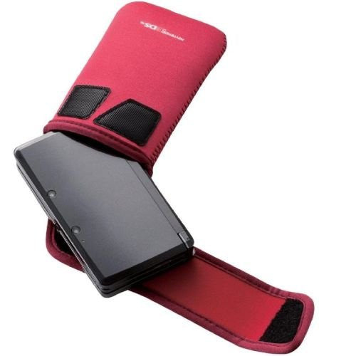Image 2 for 3DS Neoprene Soft Case (Red)