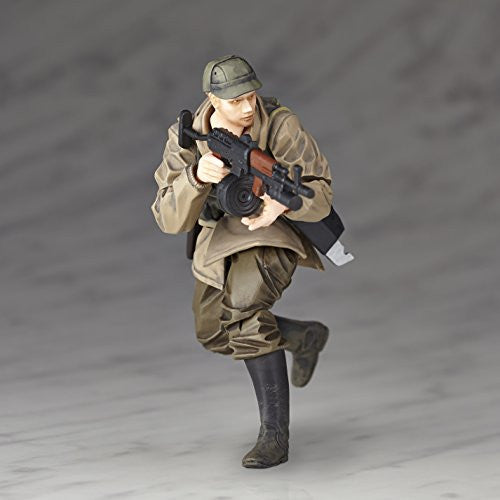 Image 3 for Metal Gear Solid V: The Phantom Pain - Soldier (Soviet Army) - Revolmini rmex-002 - Revoltech (Kaiyodo)