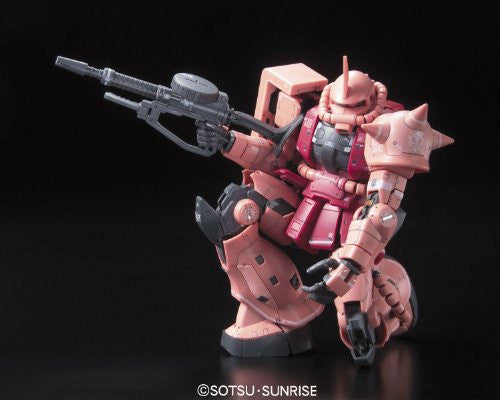 Image 4 for Kidou Senshi Gundam - MS-06S Zaku II Commander Type Char Aznable Custom - RG - 1/144 (Bandai)