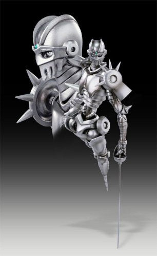 Image 4 for Jojo no Kimyou na Bouken - Ougon no Kaze - Silver Chariot - Coco Jumbo - Super Action Statue (Medicos Entertainment)
