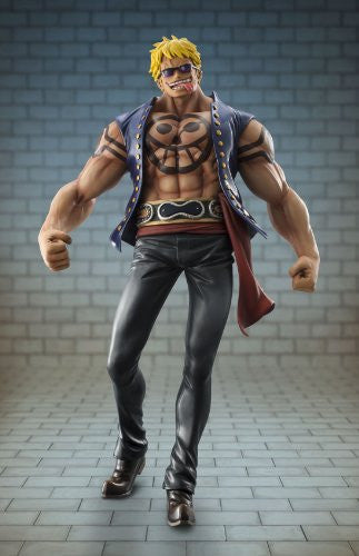 "One Piece - Bellamy the Hyena - Excellent Model - Portrait Of Pirates ""Sailing Again"" - 1/8 (MegaHouse)"
