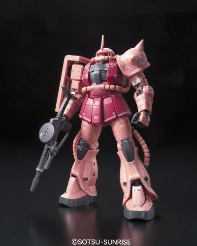 Image 12 for Kidou Senshi Gundam - MS-06S Zaku II Commander Type Char Aznable Custom - RG - 1/144 (Bandai)