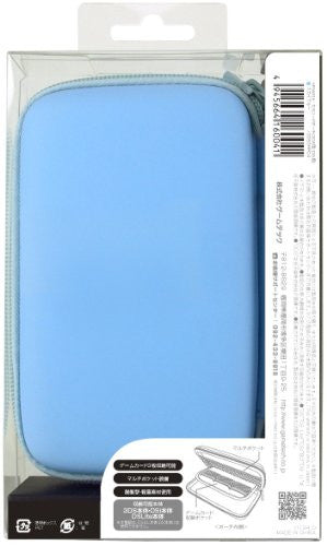 Image 2 for Palette Semi Hard Pouch for 3DS (Sky Blue)