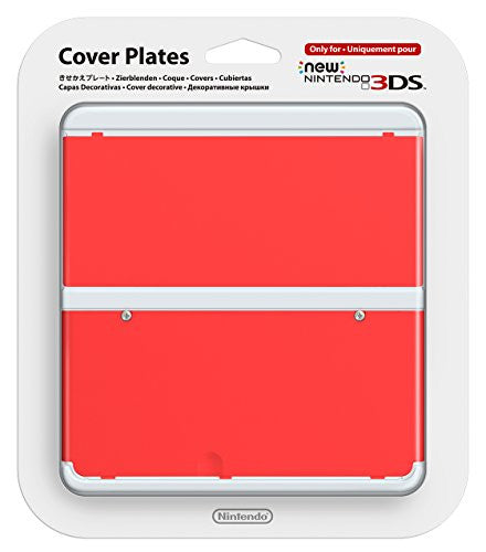 Image 1 for New Nintendo 3DS Cover Plates No.011 (Red)